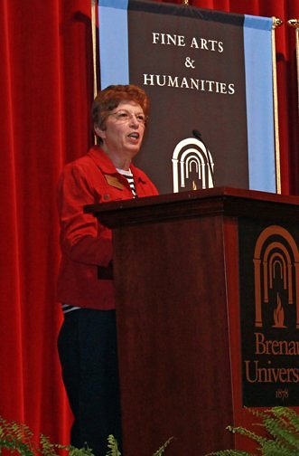 "Prof.  Elizabeth ""Beth"" Nott has been serving Brenau University for 40 years."