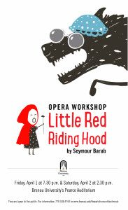 Little Red Riding Hood Show Poster