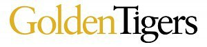GoldenTiger Wordmark, White Background
