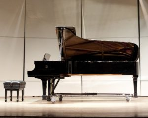 photos from the Leaptrott Trio concert in Pearce Auditorium on Tuesday, Feb. 5, 2013. This was the first concert that the Dempsey Steinway was played in.