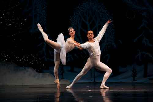 Annette Barcelona and Peter Swan, Nutcracker