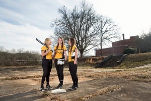 Brenau Softball Players Visit New Brenau Athletic Park