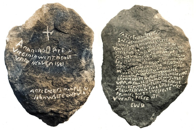 The Original Dare Stone (Front and Back)