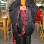 My friend Tao Li. How's this for an academic robe?! I'd love to have something like this for convocation.