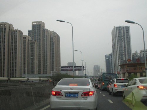 Urbanity in Hefei. You can drive for an hour (we did), and this picture never changes.