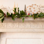 Decorated mantle