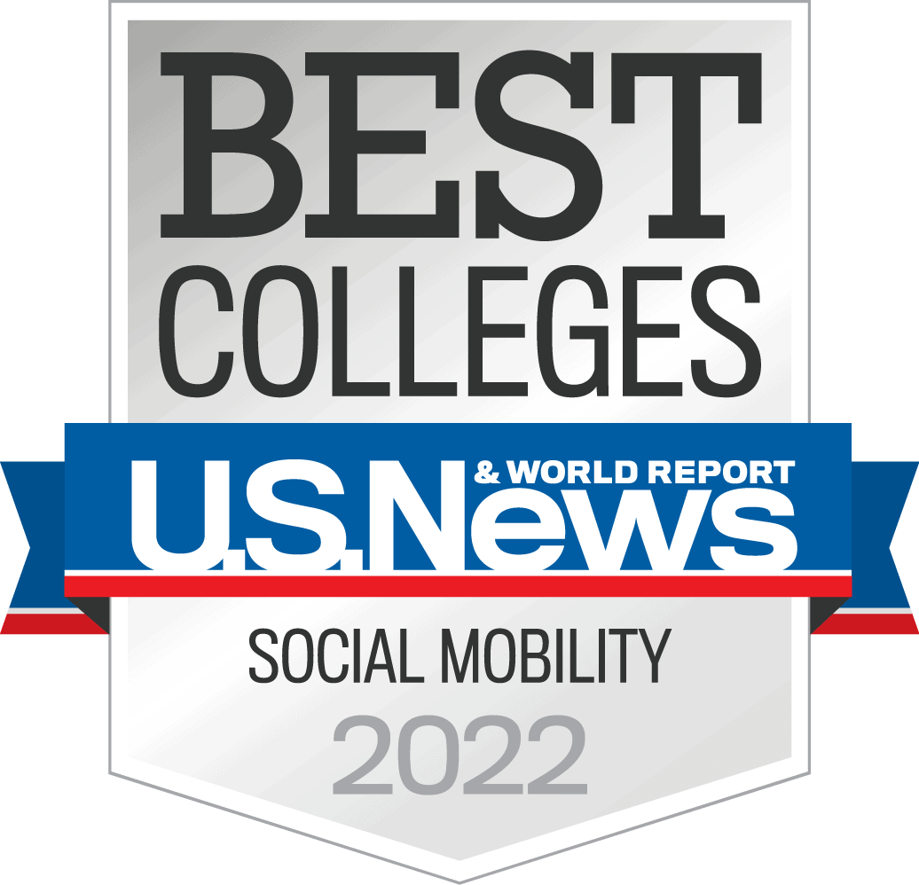 2022 Best Colleges Social Mobility Logo
