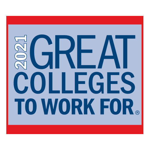 2021 Great Colleges to Work For Logo